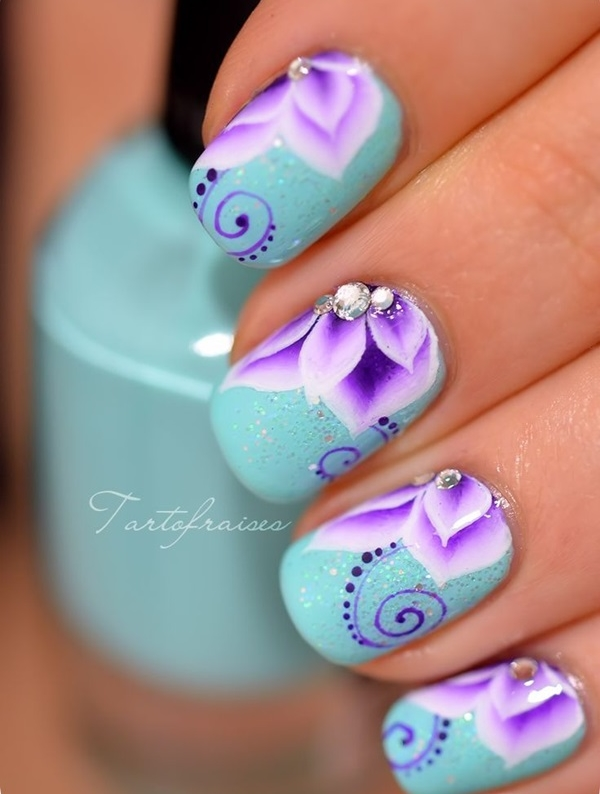 Easy Nail Art Ideas and Designs for Beginners (10)