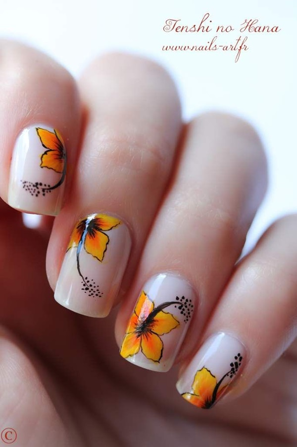 Easy Nail Art Ideas and Designs for Beginners (11)