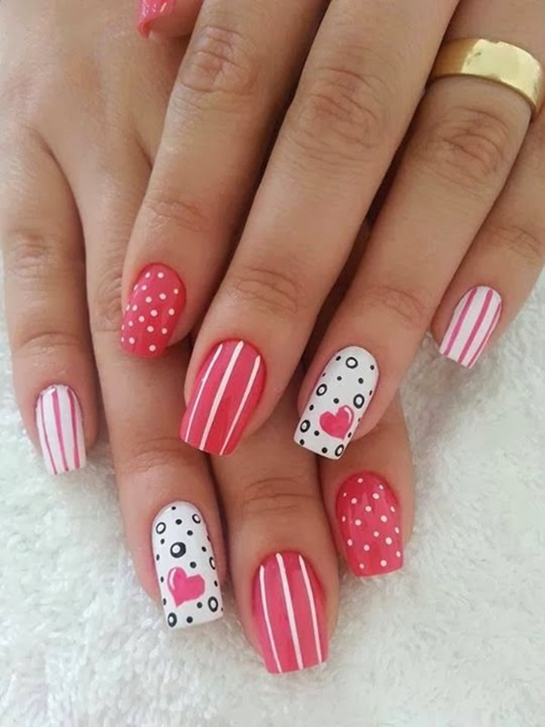 Easy Nail Art Ideas and Designs for Beginners (12)