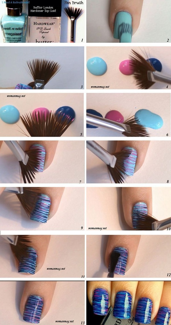Easy Nail Art Ideas and Designs for Beginners (21)