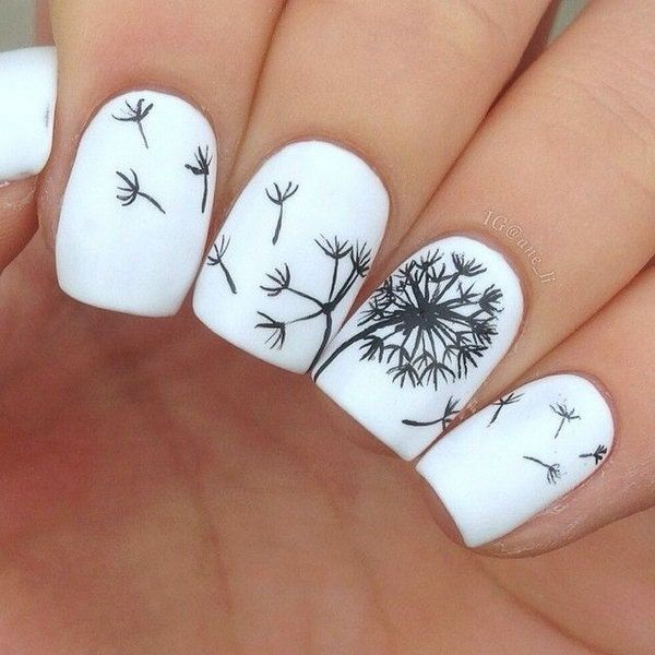 Easy Nail Art Ideas and Designs for Beginners (25)