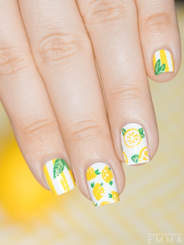 Easy Nail Art Ideas and Designs for Beginners (31)