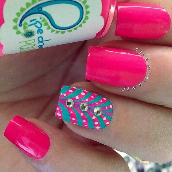 Easy Nail Art Ideas and Designs for Beginners (4)
