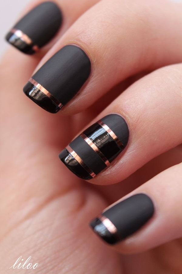 Easy Nail Art Ideas and Designs for Beginners (7)